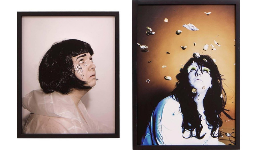 Self-portraits by the artist