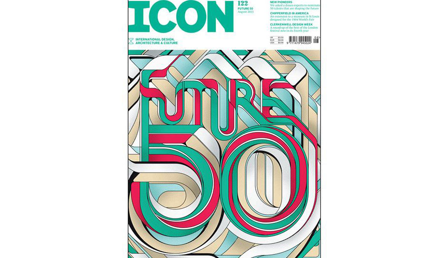 ICON Magazine Front Cover, Avaliable in from all good magazine retailers!