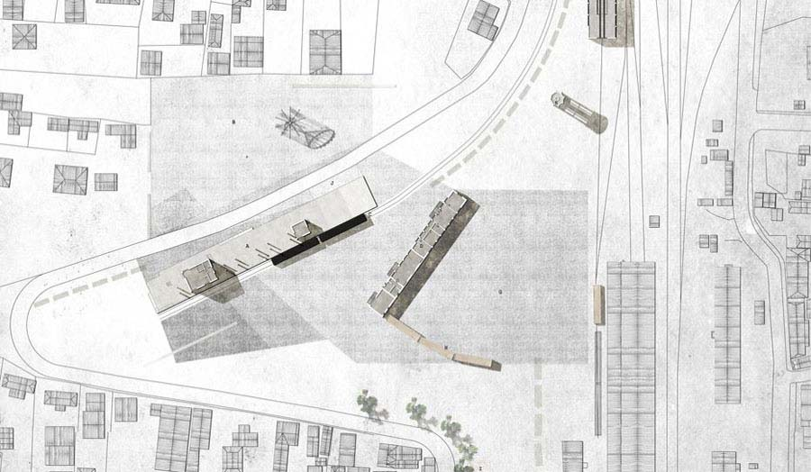 Mobile Theatre and Marshalling Yard by Magda Pelszyk