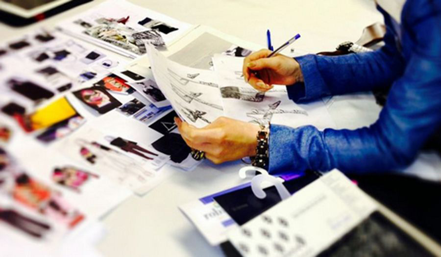 Research and Design Preparation for BA Fashion