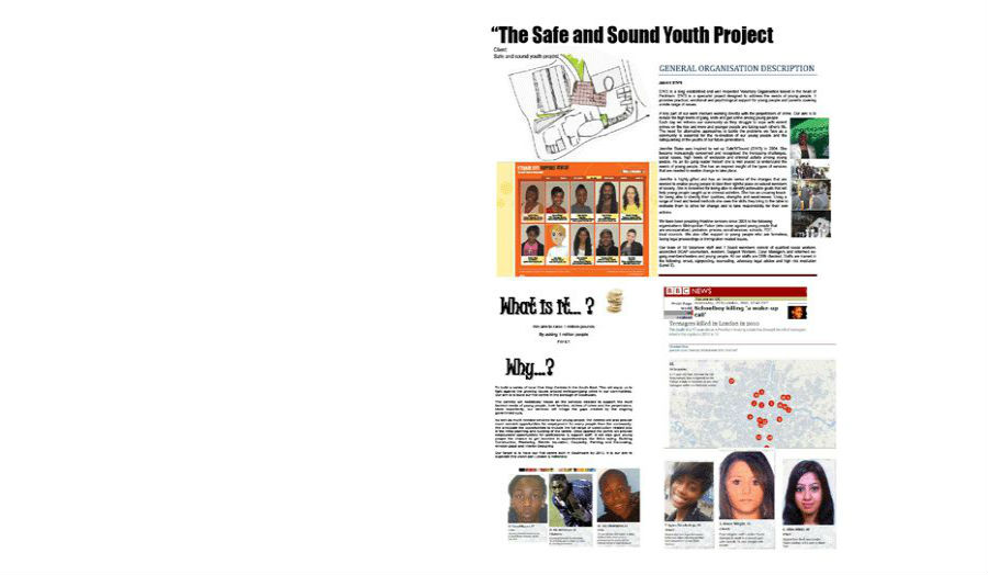 Safe and sound youth project Angeletia Padmore