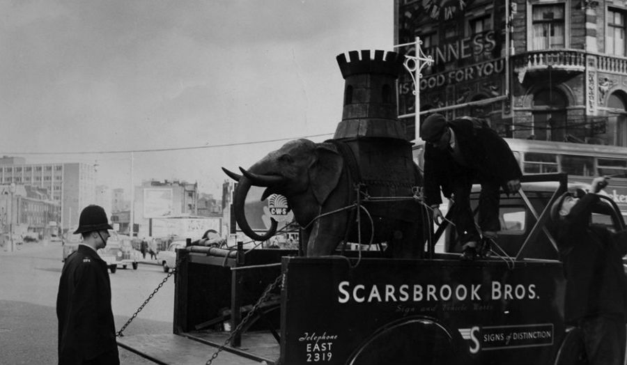 The Rise and Fall of the Elephant, Southwark Local Archive