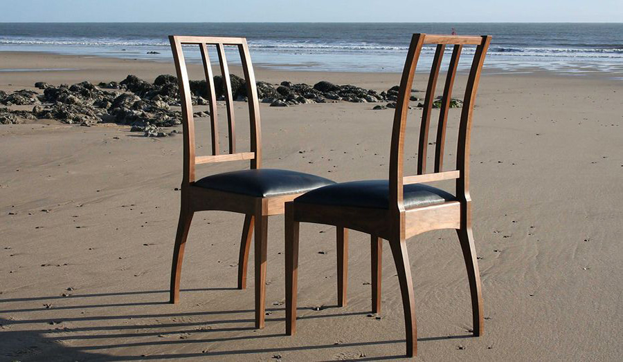Chairs on beach Furniture