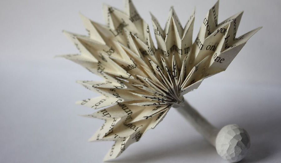 Emily Maw Paper Ring Jewellery and Silversmithing