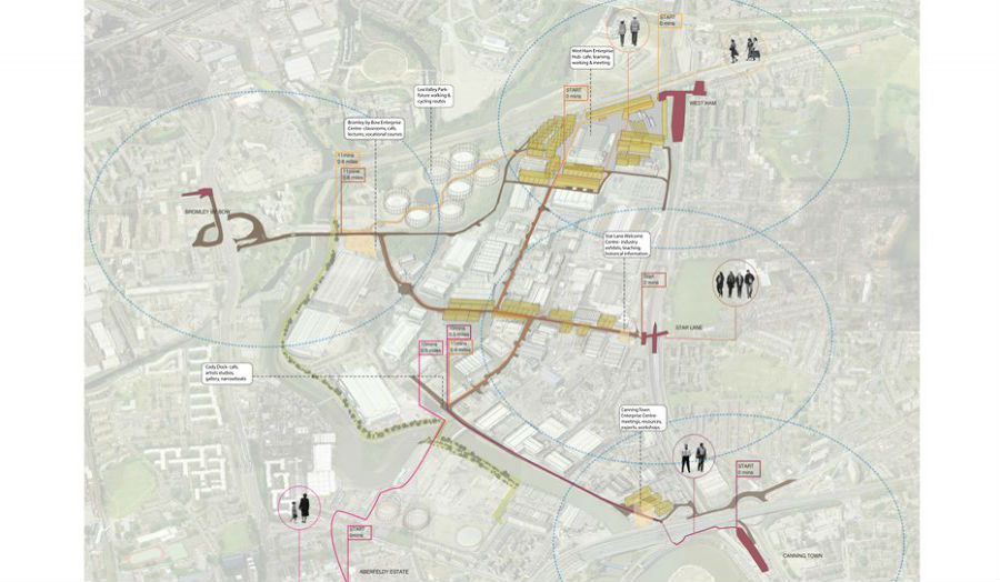 New hubs of industrial activity and routes Sophie Palmer