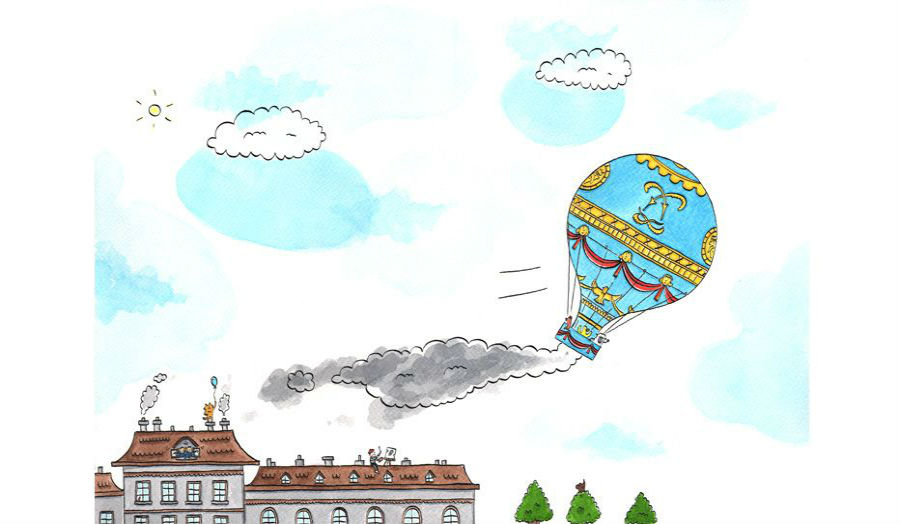 A Sense of Wonder, The Montgolfier Brothers balloon ride By Jamie Malone