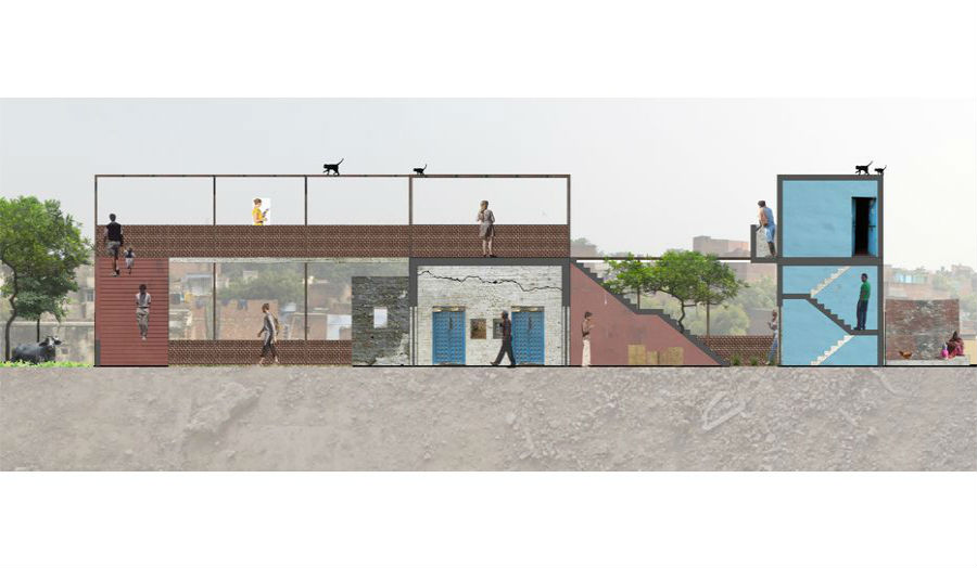 Dael Behagg Proposed section studio 7