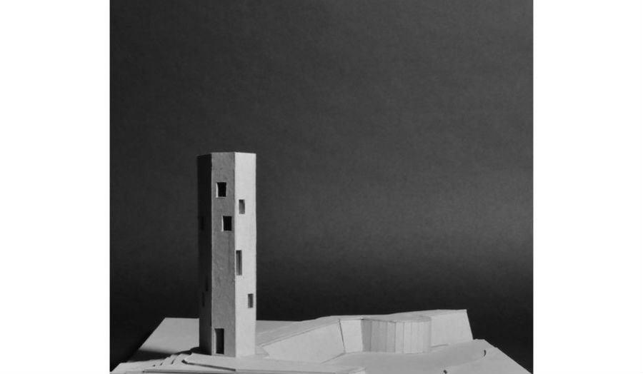 Edem Agbodjan youth hostel Sabbioneta Site model Studio 6
