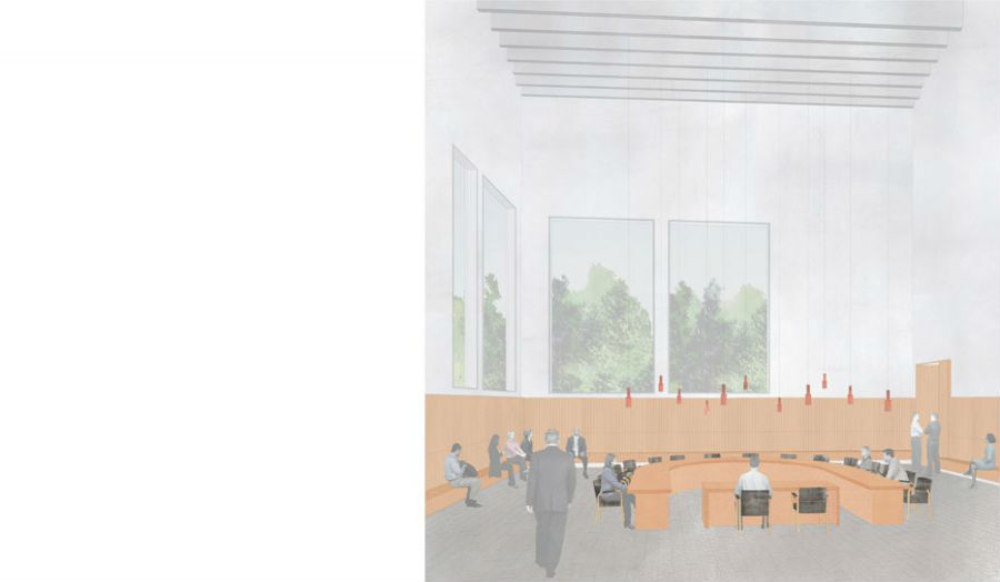 Sarah Richards Proposed council chamber studio 5