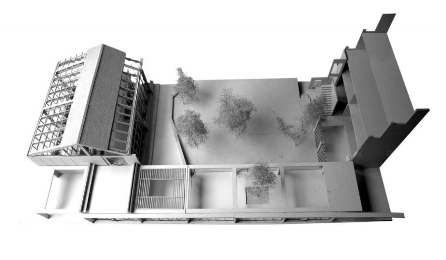 Taplow Courtyard Garden - fragment model