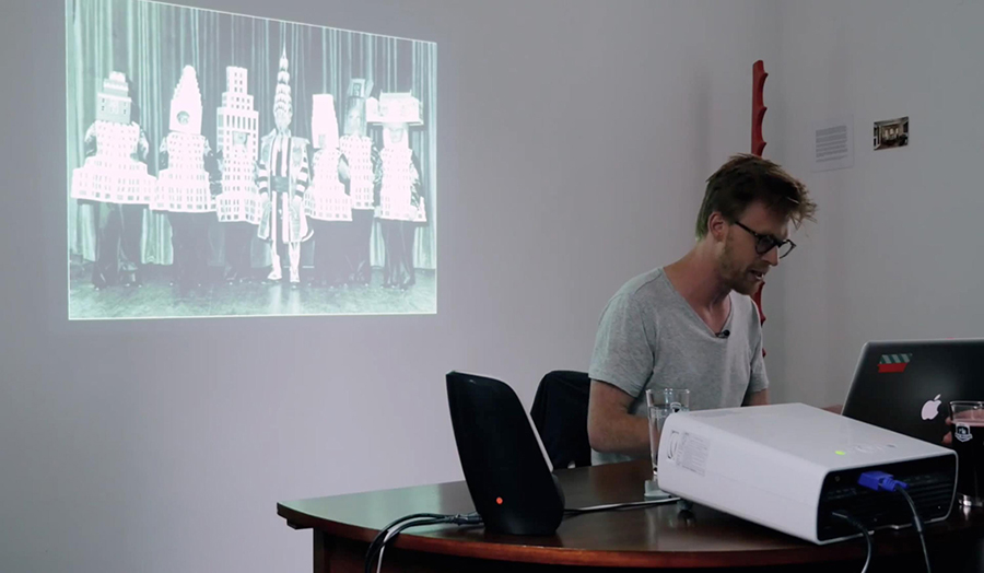 Michiel Huijben, Becoming a Building, public talk at Enough Room for Space HQ, Brussels (May 2015)