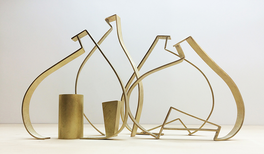 Juliette Bigley, Four Pourers, Brass, MA By Project
