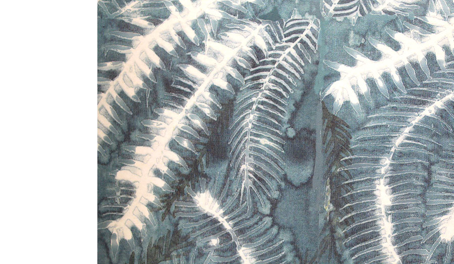 Fern Print Sample