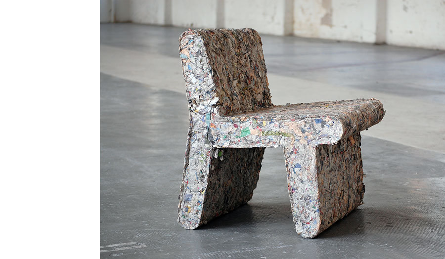'Fulvio Chair', Paper Pulp