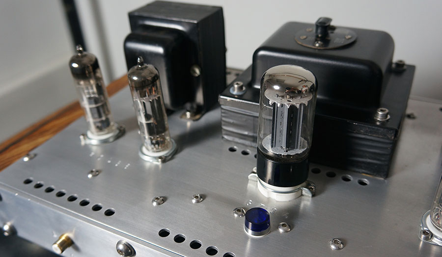Valve Amplifier by Andrew Gibbons