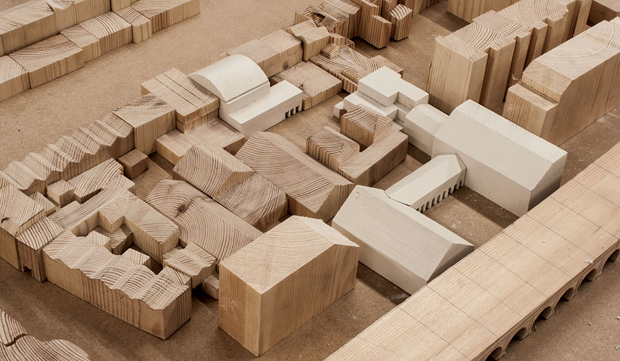Masonry Campus, massing model