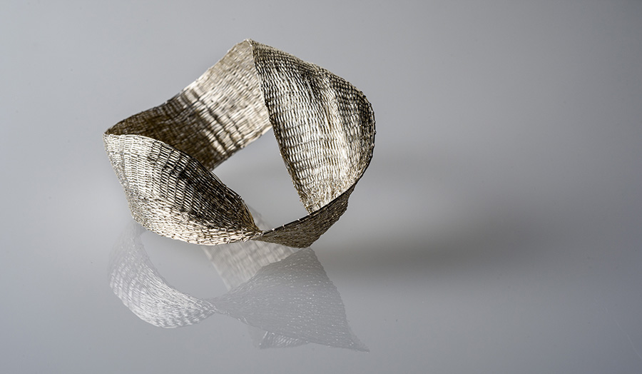 Woven form, Silver