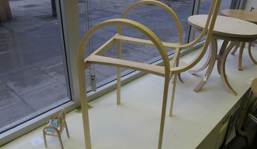 Handmade in E1 Work in Progress Chair Frame