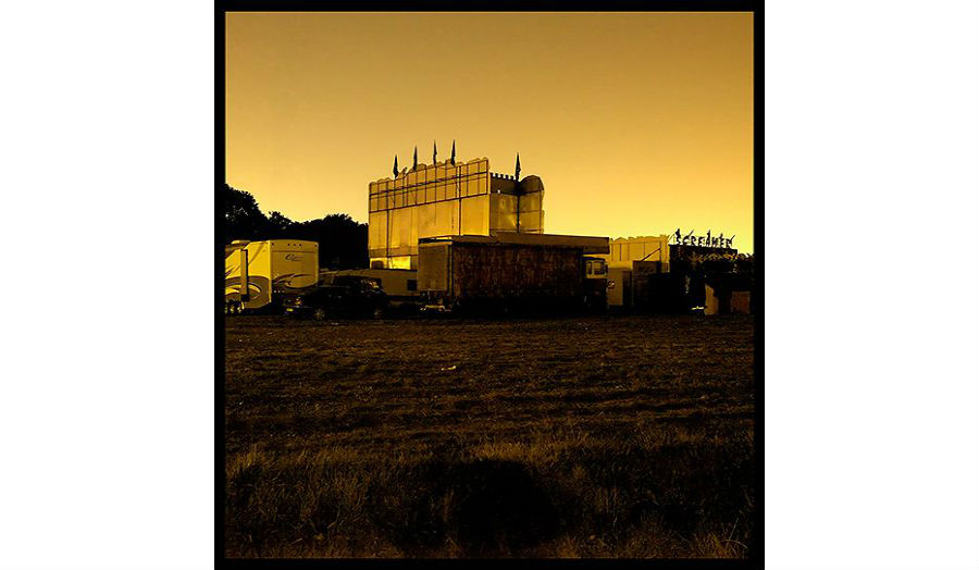 Stark, industrial photo of Wanstead Flats by David George