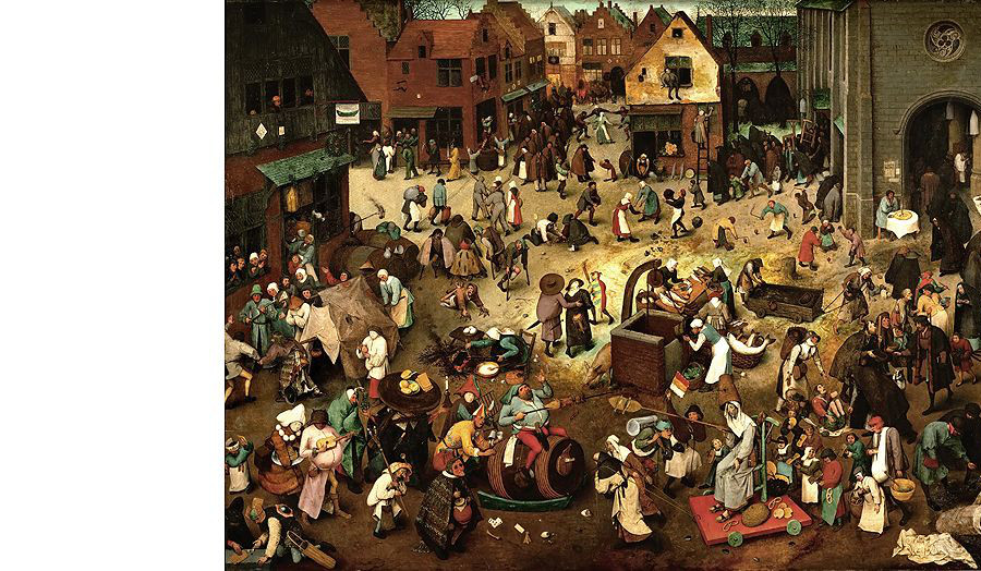 The Fight Between Carnival and Lent, Pieter Bruegel, 1559