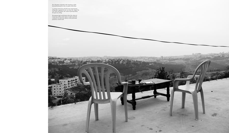 Reclaiming the hill tops for the Palestinians, The Occupied Territories, Ramsey Yassa. Free Unit 2014