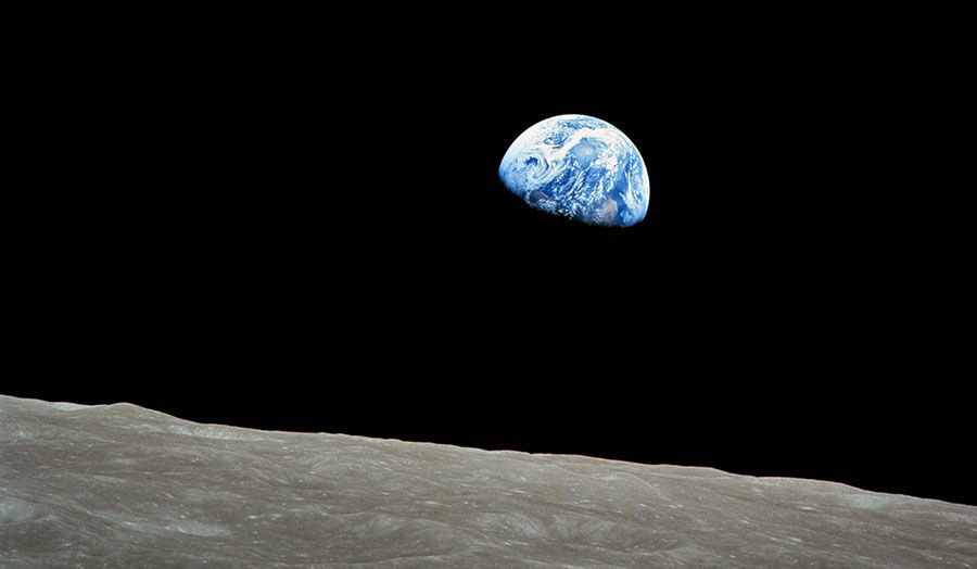 """Earthrise"", NASA, 1968"