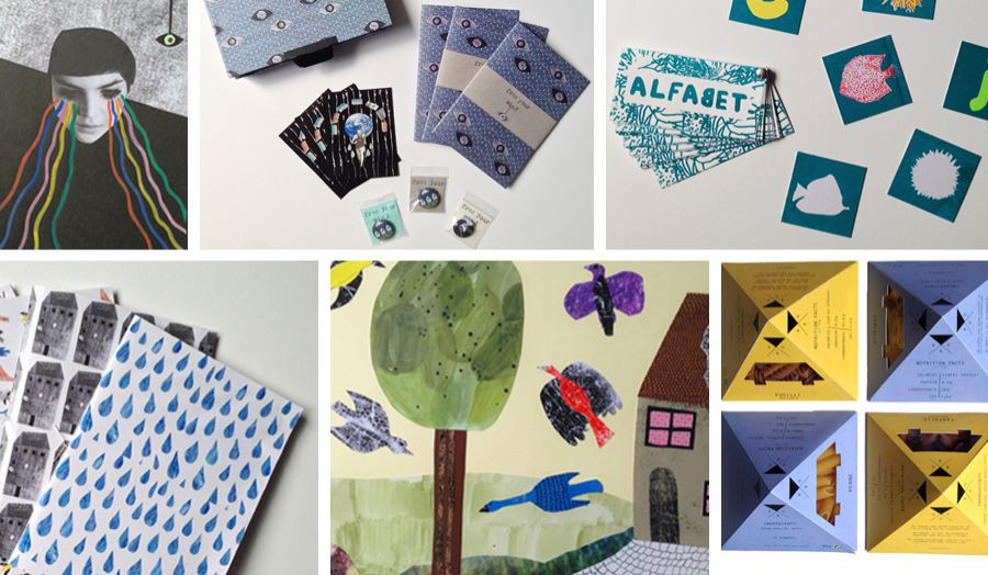 Illustrations, Graphics, Bookbinding and Box Making, Packaging
