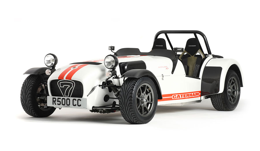 Super 7 cabriolet roadster, produced in Slade Green, by Caterham, 1 of more than 2000 manufacturers