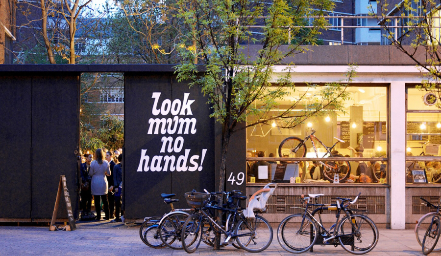Look Mum No Hands! Branding by OPX.