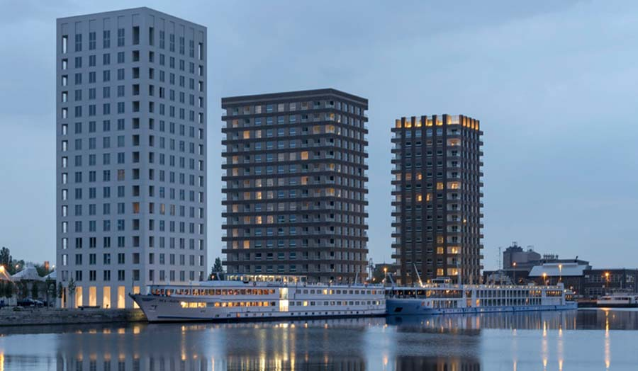 Tony Fretton Architects Antwerp Towers