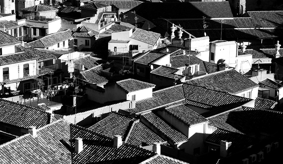 Toledo roofscape
