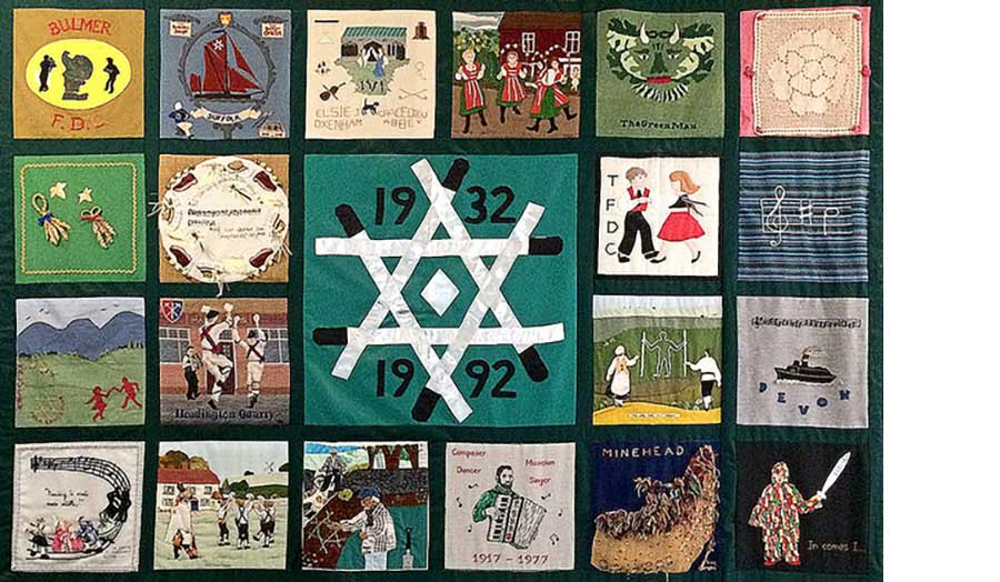 Rituals and traditions quilt, Cecil Sharp House