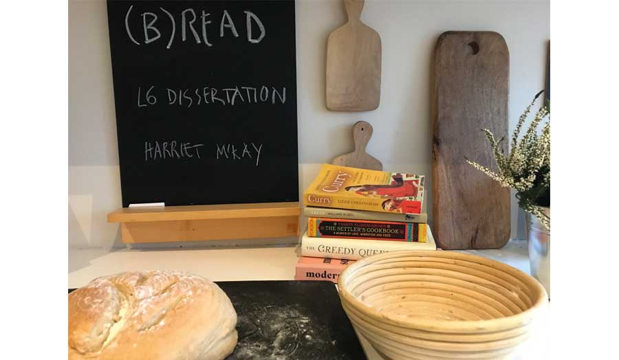 B(read) – dough, baking and bread as recipe and metaphor for making a dissertation