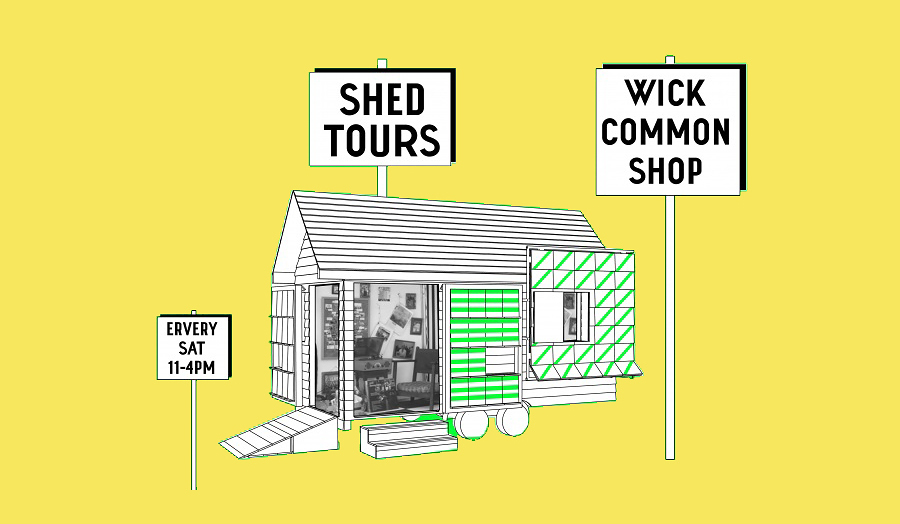 Touring shed