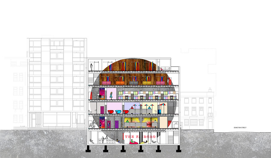 Cass Interiors London Metropolitan University