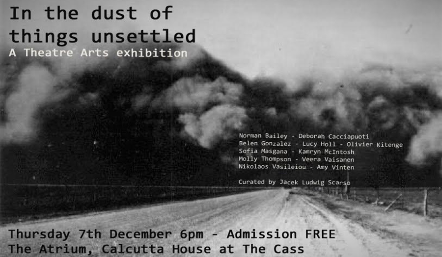 An image advertising a Cass exhibition called,