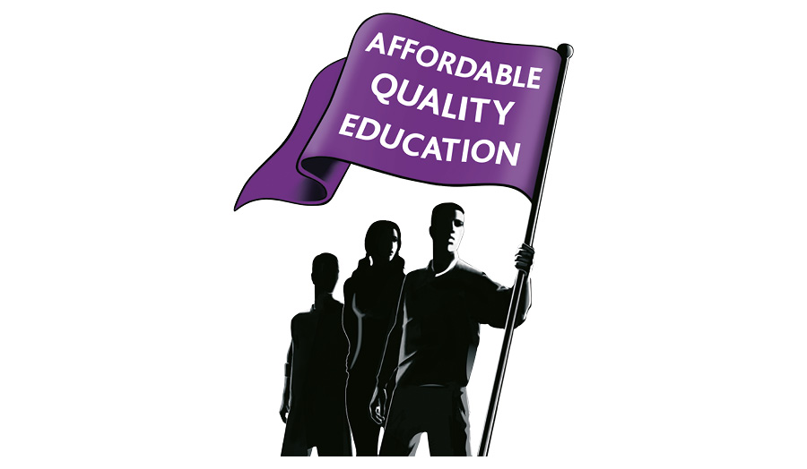 Legacy logo from Affordable Quality Education