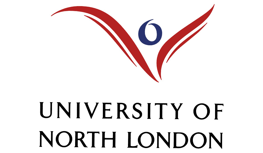 The legacy logo for the University of North London