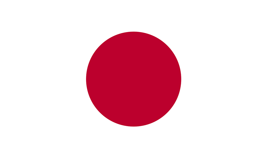 Japan country flag