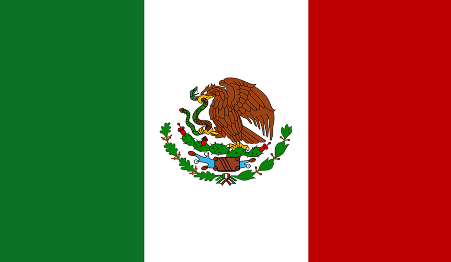 Country flag for Mexico