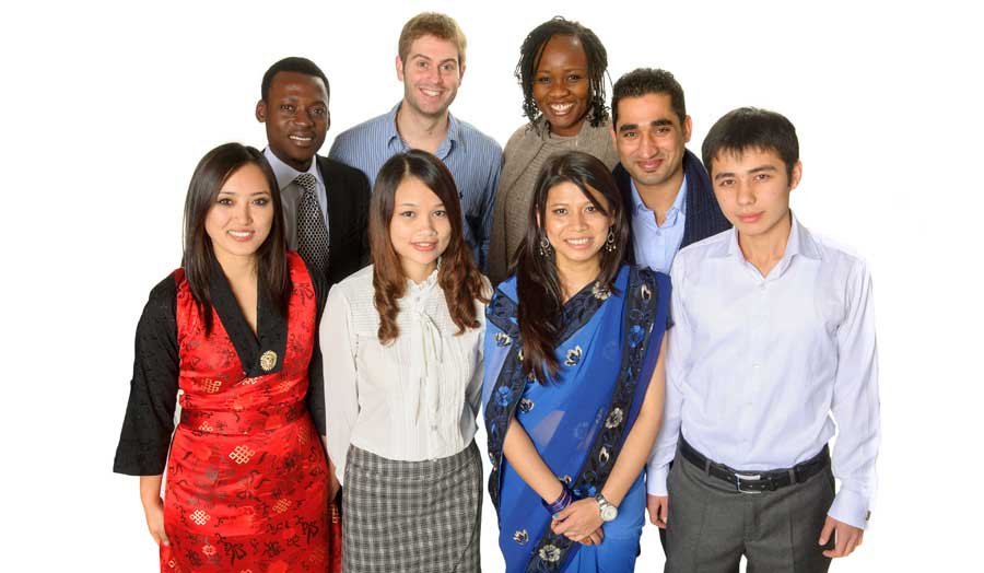 Image of previous scholarship students