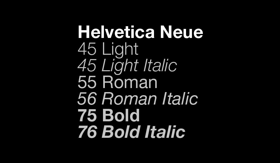 London Met's main corporate font is Helvetica Neue