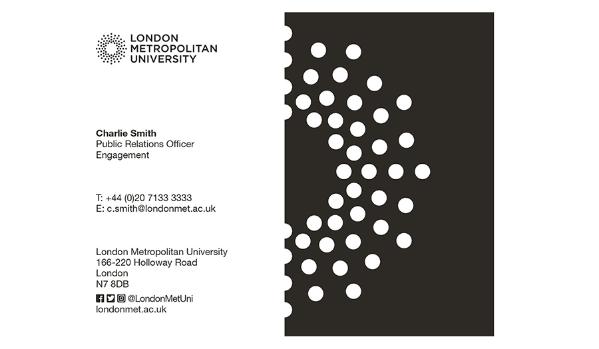 Business cards london metropolitan university this is the template for the london metropolitan university business card business cards are ordered through the universitys marketing department and are colourmoves