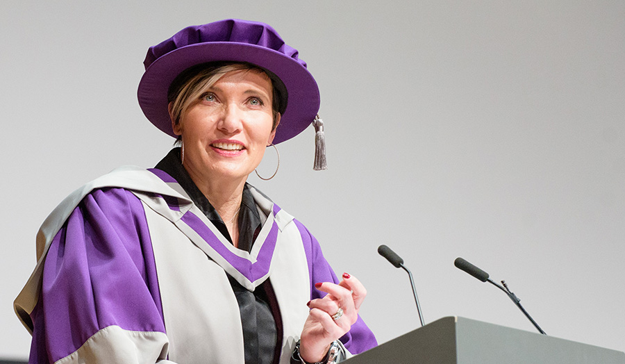 Tanya Byron, psychologist, Honorary Doctor of Letters, honorary graduate, Winter 2019