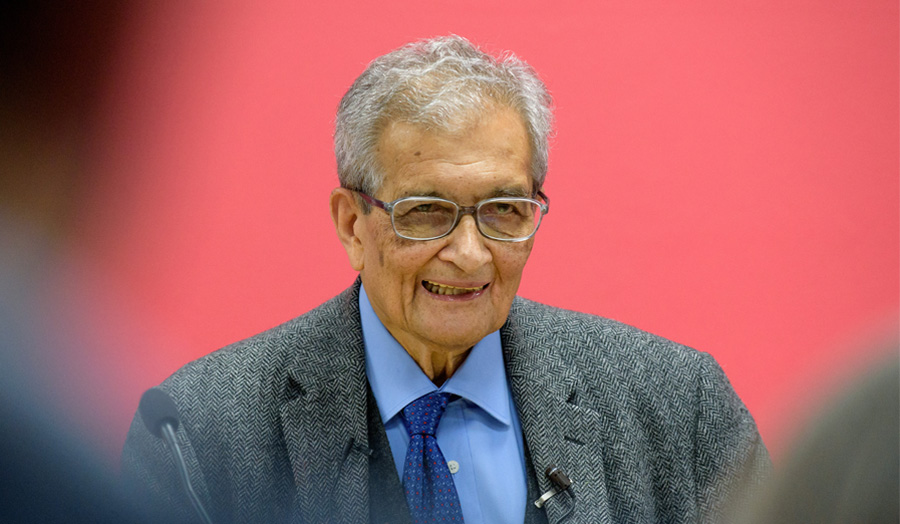 Amartya Sen speaks at London Met