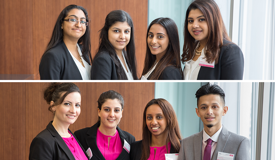 London Met's finalists in the CIMA Global Business Challenge
