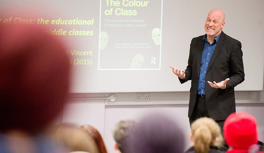 Professor David Gillborn speaks on Race as part of London Met's Forward Thinkers lecture series.