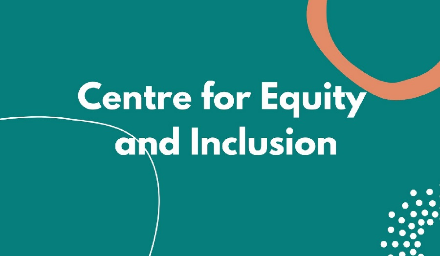 text reading 'Centre for Equity and Inclusion'