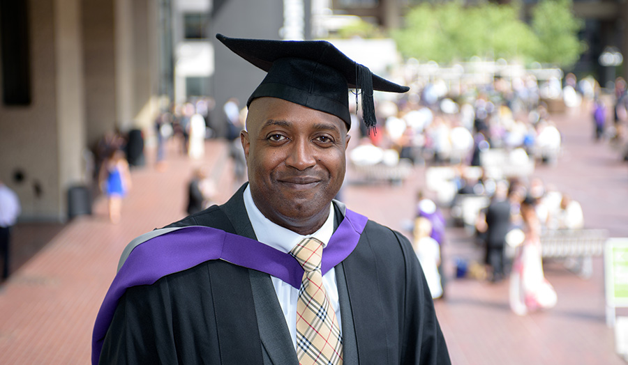 Terry Ffrench-Graham graduation 1