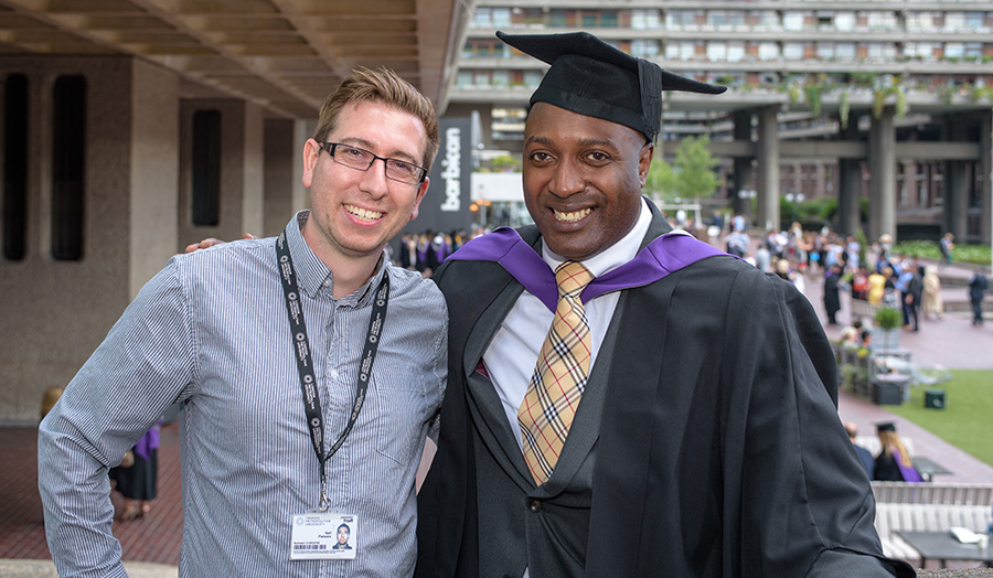 Terry Ffrench-Graham graduation 2